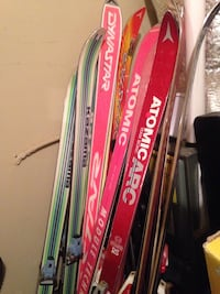 Several Ski's for sale - may include poles
