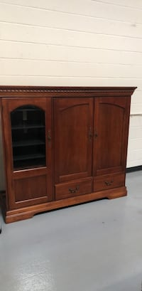 brown wooden cabinet with drawer Halethorpe, 21227