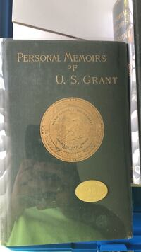 Personal Memoirs of U.S. Grant 1885 with possible autopen Metairie, 70002
