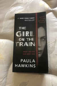 The Girl on the train - paperback Mississauga, L5M 6P8