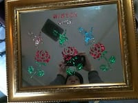 Handcrafted mirror with frame MUST SELL ASAP  1816 mi