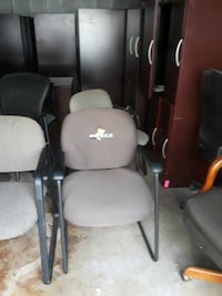 Chairs with arms used normal wear