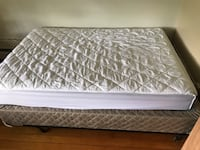 Full Size Mattress and Box Spring( mattress cover included) Boulder