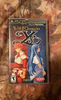 Ys 1 and 2 Chronicles (PSP)