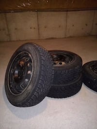 Goodyear Nordic winter tires with rims Markham, L6C 2G6