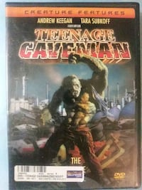 Teenage Caveman dvd
