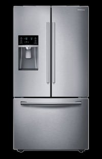 Samsumg stainless steel french door refrigerator Montreal, H3X
