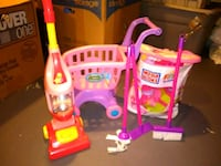 pink and purple plastic toy Sharon, 16146