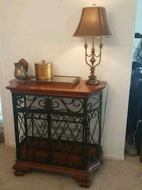 Wood bar with metal. Like new!  Winter Park, 32789