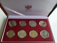 1988 Vintage South Korea Olympic Coin Collection Calgary, T2S 3C7