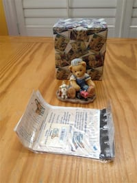 Cherished Teddy Figure #601624 - Canadian Exclusive