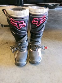 Fox womems size 8 dirt bike boots Lathrop, 95330