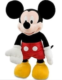 Brand New Mickey Mouse jumbo plush - $80 Brampton, L6X 0L6