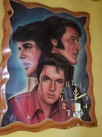 Elvis clock PITTSBURGH