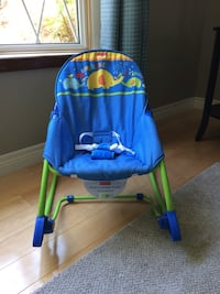 Fisher Price infant to toddler rocker chair Kitchener, N2E 2A3