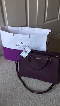 Kate Spade Deep Plum Handbag Germantown, 20874