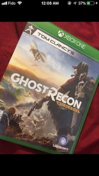 Xbox One Ghost Recon game case Ottawa, K1G 1A3