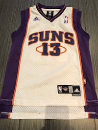 Youth small Steve Nash Basketball Jersey