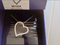 Brand New Swarovski Love Pendant Necklace Germantown, 20876