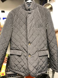 Gianni Feraud men's quilted jacket sz 42