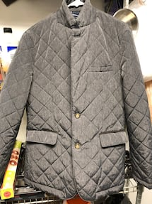 BNWT Gianni Feraud men's quilted jacket sz 42
