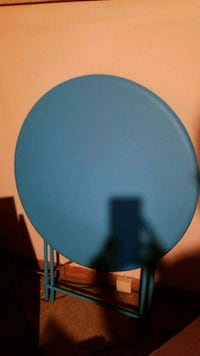 Brand new blue folding table w/tags Indianapolis, 46201