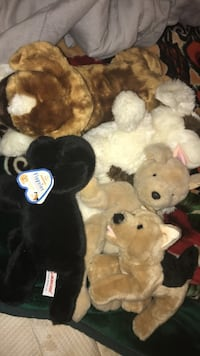 5 stuffed animals for sale great for christmas presents Clifton Park, 12065
