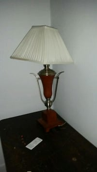 brown and white table lamp Waterloo, 50701