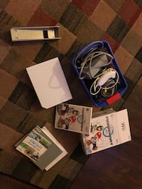 Wii with games 2329 mi