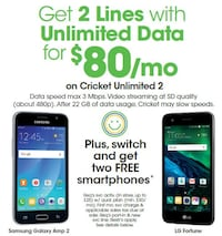 2 Lines of UNLIMITED data for $80! Detroit