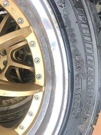 "17"" rims and summer tires Toronto, M2N 5L3"