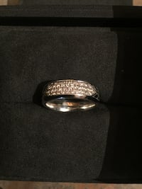 David Yurman Silver wedding band.  Woodbridge, 22192