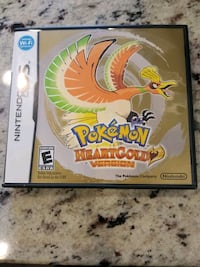 Complete Pokemon HeartGold Nintendo DS official Parkville, 21234