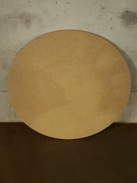 LARGE, ROUND, COMPRESSED WOOD TABLETOP - firm price. Arlington, 22204
