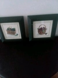 two brown wooden framed wall decors Myrtle Beach, 29577