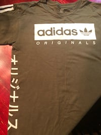 Adidas collectible t-shirt size adult Small 890 mi