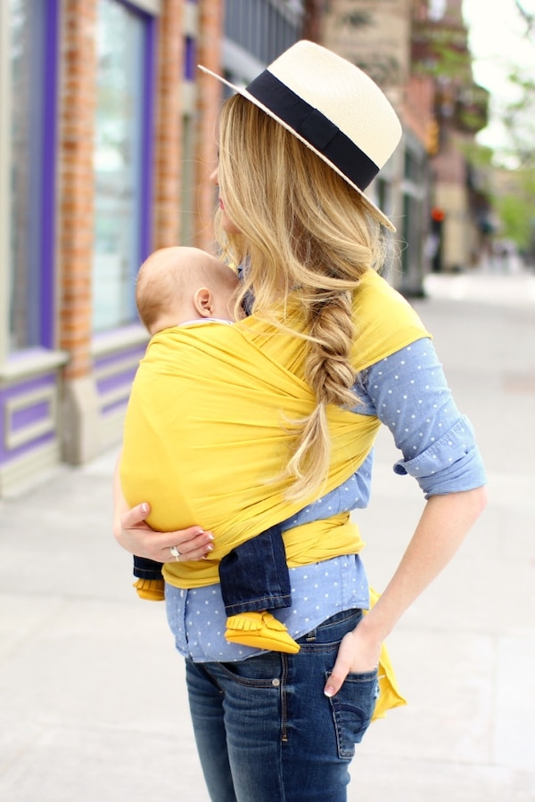 Mustard Yellow Solly Baby Wrap