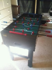 black and red foosball table Locust Grove