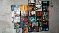 assorted DVD movie case lot The Woodlands
