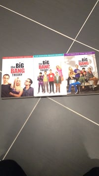 The Big Bang Theory DVDs