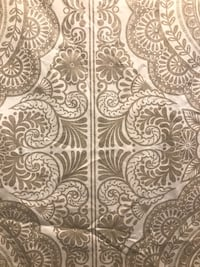New! Cream and brown shower curtain Oxon Hill, 20745