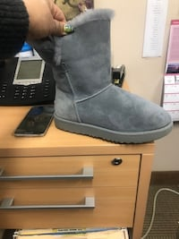 UGG Grey Ankle Boots