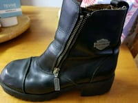pair of black leather boots Daly City, 94015