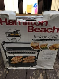 black Hamilton Beach indoor grill box Niagara Falls, L2J 1Y2