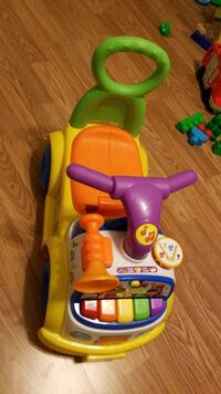 Toddler bike and musical toy