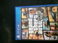 Grand Theft Auto Five PS4 game case Windsor, N9C 4H9
