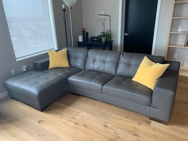Kasala sectional sofa left. Good condition