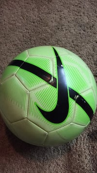 Bright green and yellow Nike Soccer Ball St Catharines, L2S 3M2