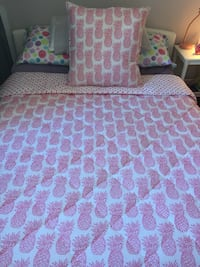 Queen size comforter and decor pillow Mississauga, L4Y 3T6