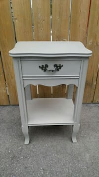 SOLD PPU-FRENCH PROVINCIAL BEDSIDE NIGHT TABLE